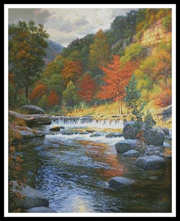 click here to view larger image of Autumn Serenity (Large)  (Mark Keathley) (chart)