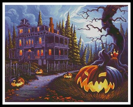 click here to view larger image of Jack-o-Lantern Lane (chart)