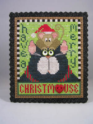 click here to view larger image of Have A Merry Christmouse (chart with charms/buttons)