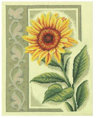 click here to view larger image of C-1169 Sunflower (counted cross stitch kit)