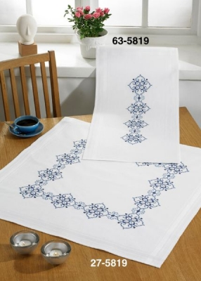 click here to view larger image of Border - Table Cloth (counted cross stitch kit)