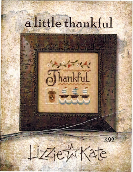 Little Thankful, A - click here for more details about chart with charms/buttons
