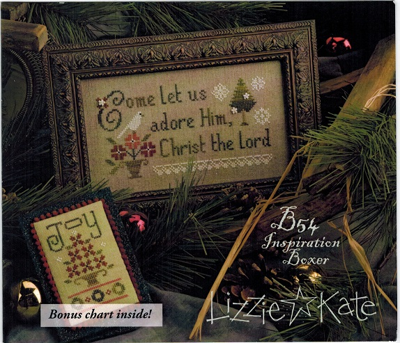 Come Let Us Adore Him - Inspiration Boxer - click here for more details about counted cross stitch kit