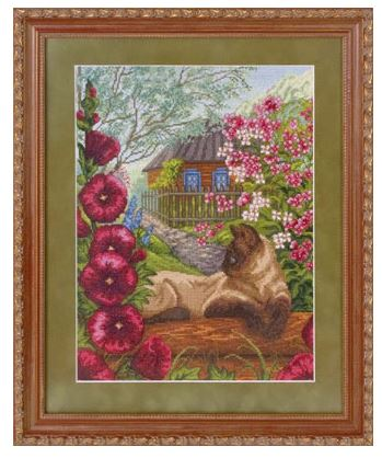 J-1103 - click here for more details about counted cross stitch kit