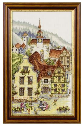 VK-1107 - click here for more details about counted cross stitch kit