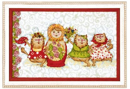 click here to view larger image of VK-1037 (counted cross stitch kit)