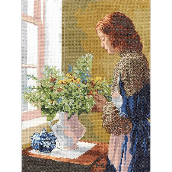 click here to view larger image of Grace (counted cross stitch kit)