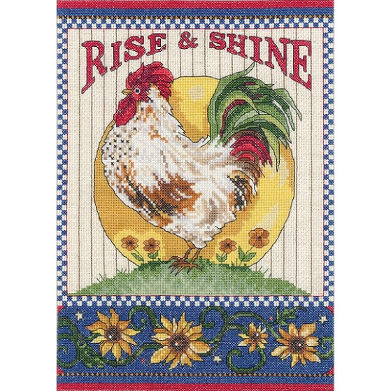 click here to view larger image of Rise and Shine (counted cross stitch kit)