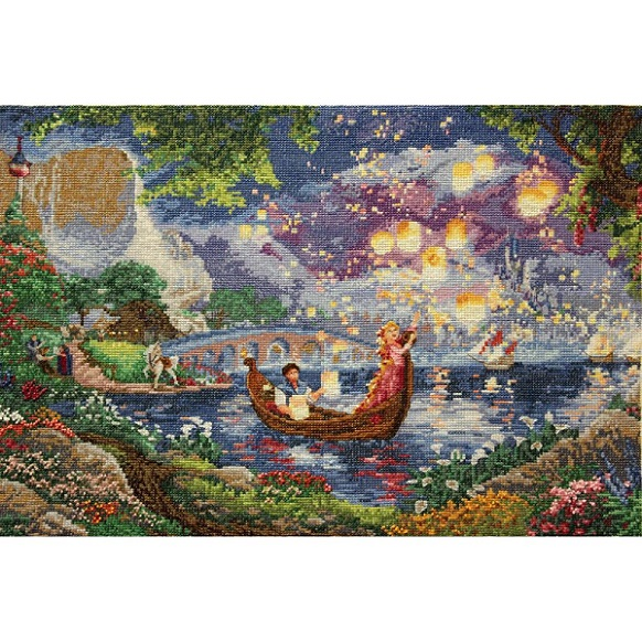 click here to view larger image of Tangled - Disney Dreams Collection (counted cross stitch kit)