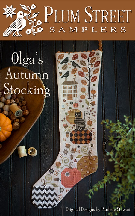 click here to view larger image of Olgas Autumn Stocking (chart)