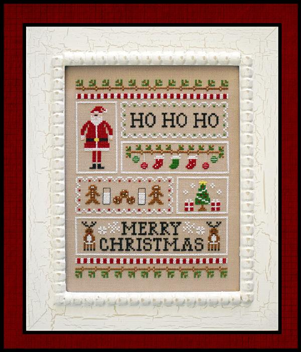 click here to view larger image of Santas Sampler (chart)