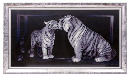 click here to view larger image of J-1062 Tiger Love (counted cross stitch kit)