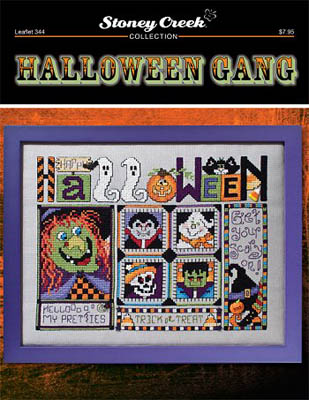 click here to view larger image of Halloween Gang (chart)