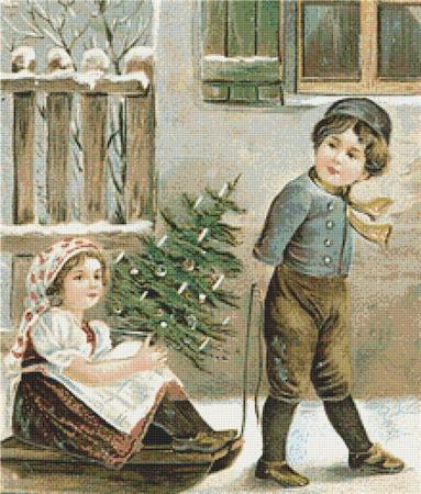 click here to view larger image of Christmas Children (chart)
