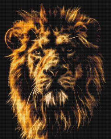 click here to view larger image of Fractalius Lion (chart)