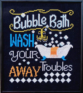 click here to view larger image of Bubble Bath (chart)