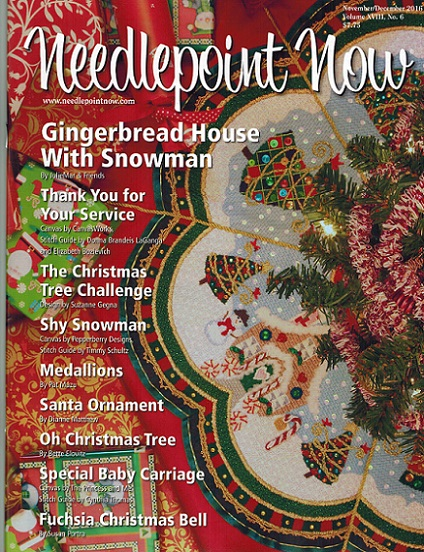 click here to view larger image of Needlepoint Now November/December 2016 (magazines)