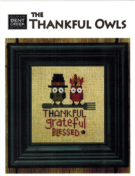 click here to view larger image of Thankful Owls, The (chart)