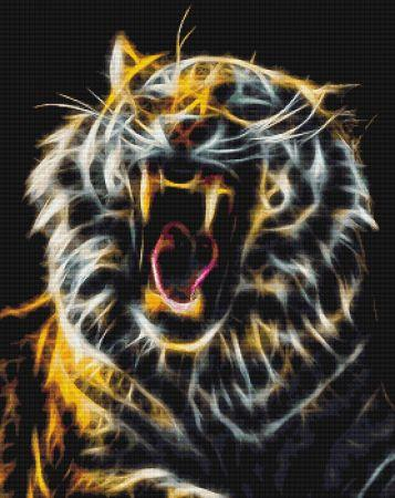 click here to view larger image of Fractalius Tiger Yawn (chart)
