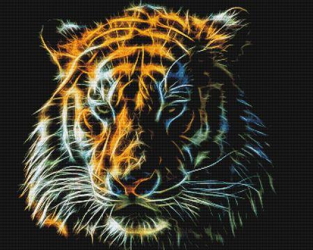 click here to view larger image of Fractalius Tiger Head (chart)