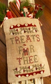 click here to view larger image of Treats For Thee - Merry Noel Collection (chart)