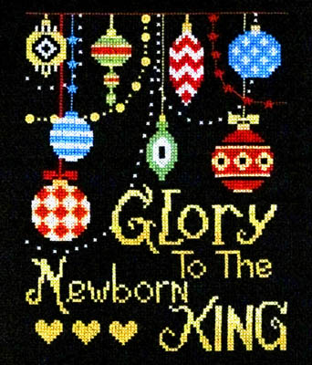 click here to view larger image of Glory To The Newborn King (chart)