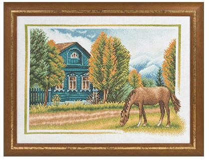 click here to view larger image of DE-1009 (counted cross stitch kit)
