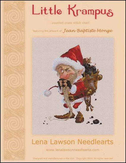 click here to view larger image of Little Krampus - (Jean-Baptsite Monge) (chart)