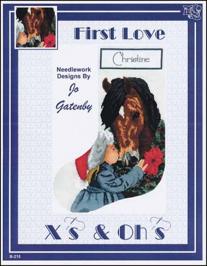 click here to view larger image of First Love Stocking (chart)