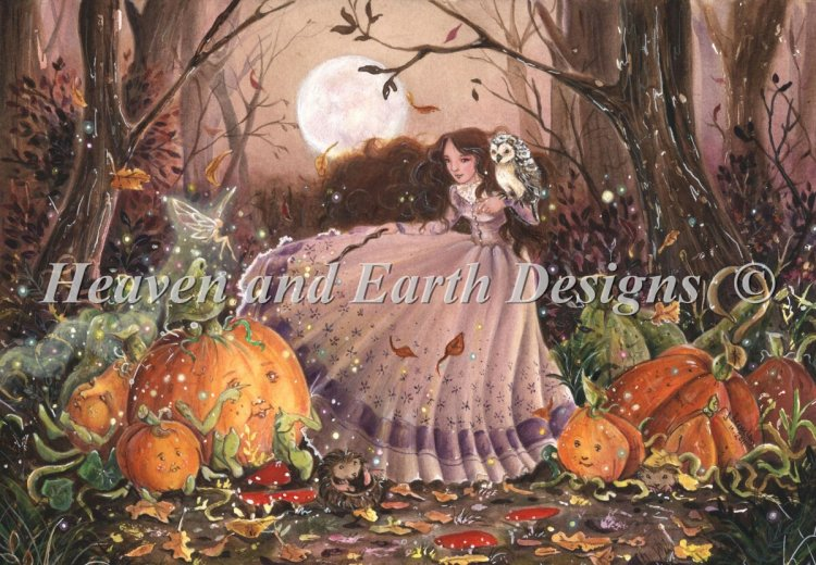 click here to view larger image of Autumn Faery Witch (chart)