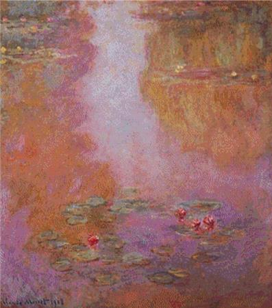 click here to view larger image of Water-Lilies (chart)