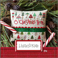 click here to view larger image of O Christmas Tree (Kit) (counted cross stitch kit)