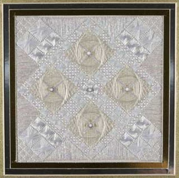 click here to view larger image of Glitz & Glamour Diamond (counted canvas chart)