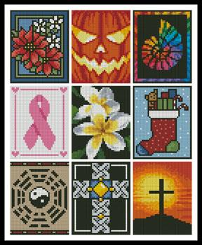 click here to view larger image of Cross Stitch Card Collection 2 (chart)