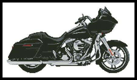 click here to view larger image of Harley Road Glide (chart)