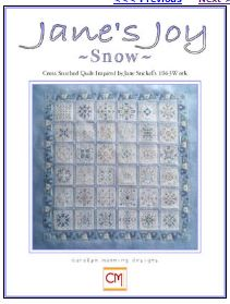 click here to view larger image of Snow - Janes Joy (chart)