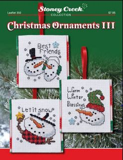 click here to view larger image of Christmas Ornaments III (chart)