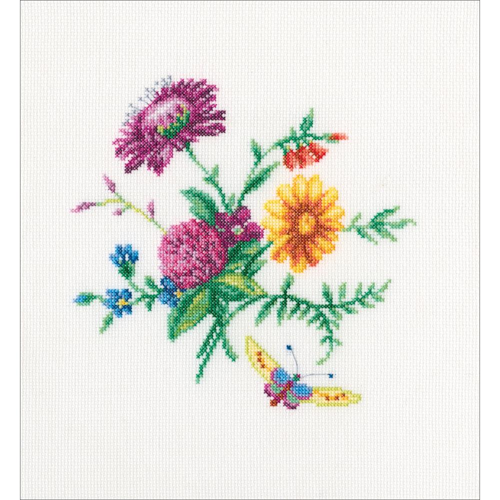 click here to view larger image of Bunch With Clover (counted cross stitch kit)