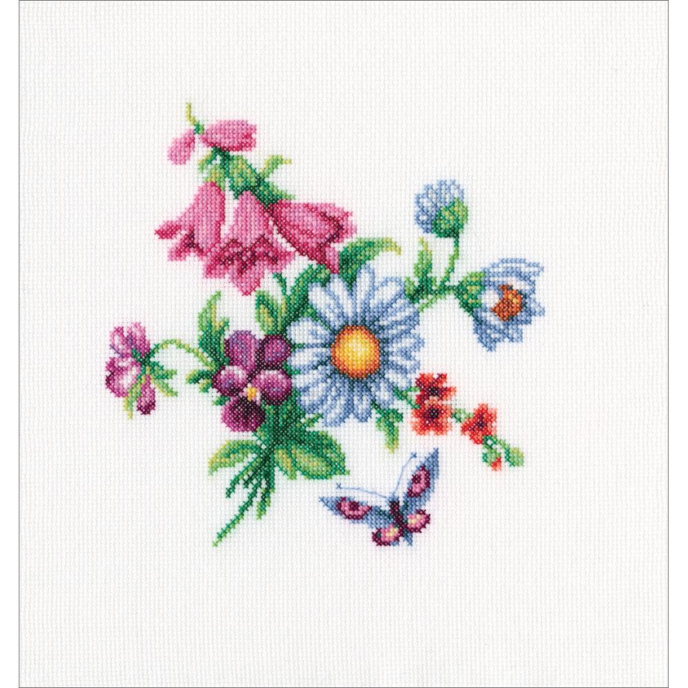 click here to view larger image of Bunch With Bellflowers (counted cross stitch kit)