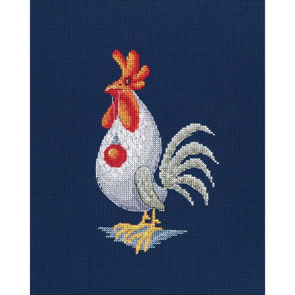 click here to view larger image of Red Makes Dream Come True (counted cross stitch kit)