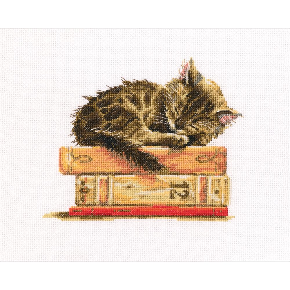 click here to view larger image of Cats Dream (counted cross stitch kit)