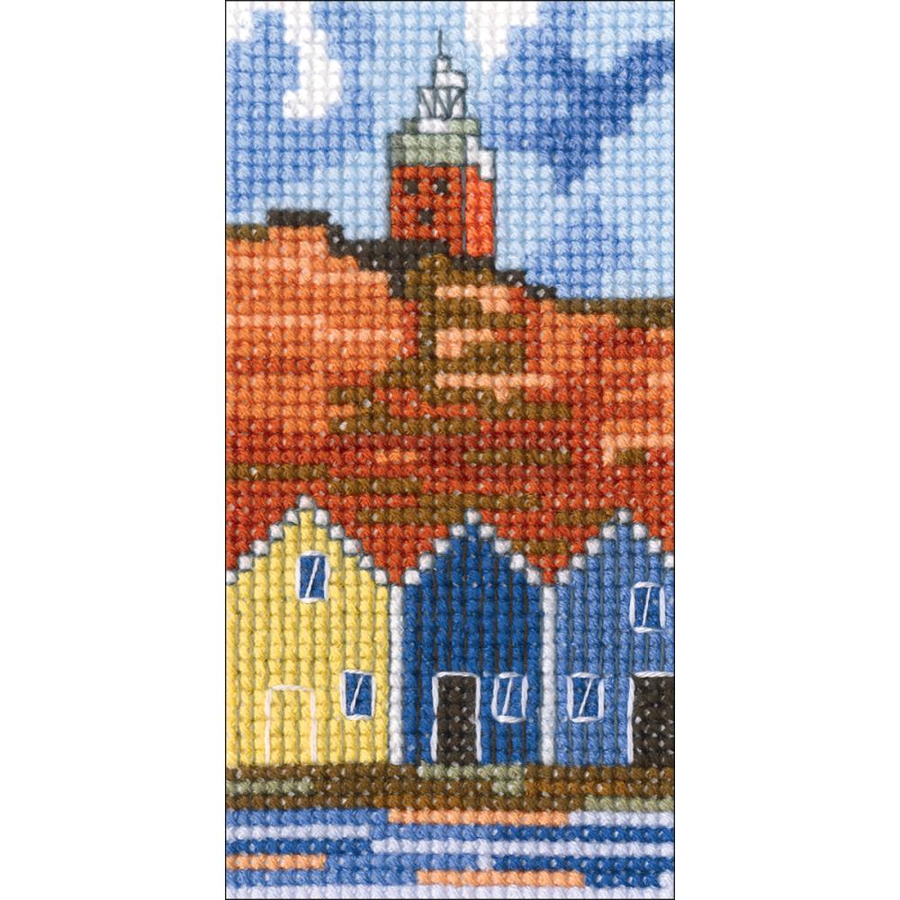 click here to view larger image of Lighthouse III (counted cross stitch kit)