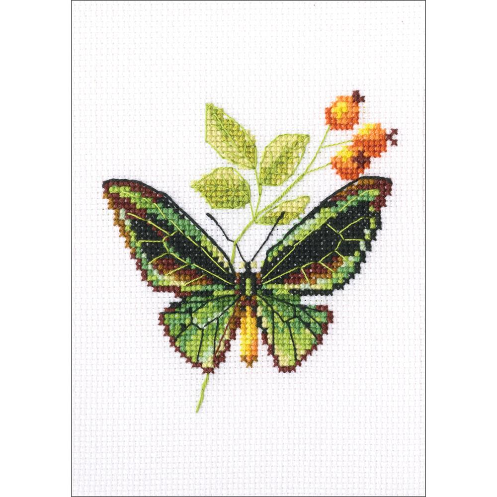 click here to view larger image of Briar and Butterfly (counted cross stitch kit)