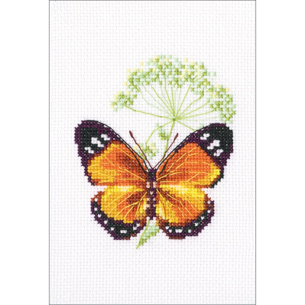 click here to view larger image of Caraway and Butterfly (counted cross stitch kit)