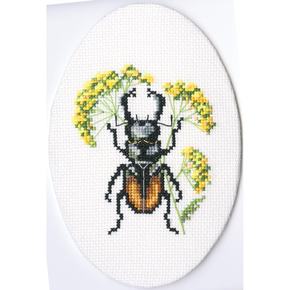 click here to view larger image of Bug On Hairs Ear (counted cross stitch kit)