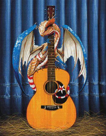 click here to view larger image of Country Music Dragon (chart)
