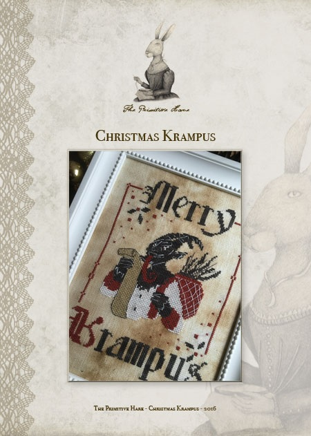click here to view larger image of Christmas Krampus (chart)