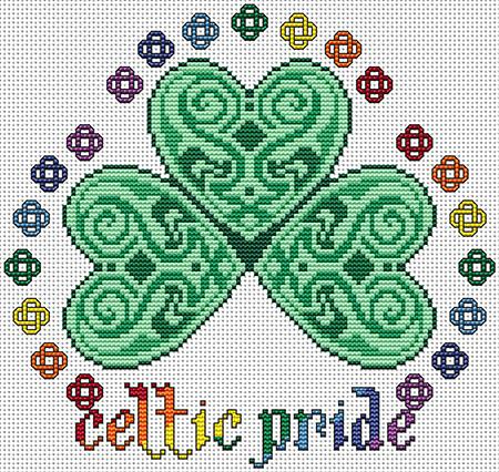 click here to view larger image of Celtic Pride (chart)