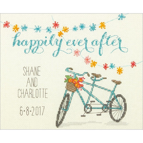 click here to view larger image of Happily Ever After - Cathy Heck (counted cross stitch kit)