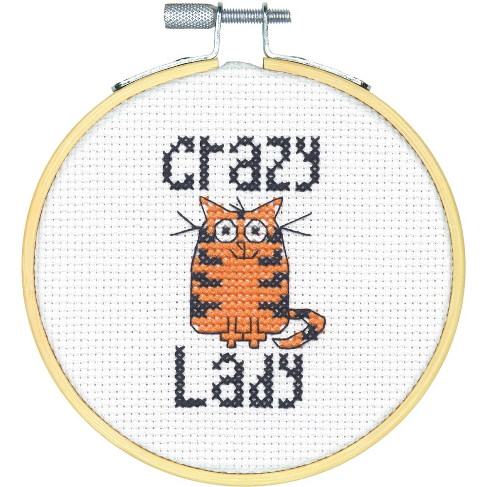click here to view larger image of Stitch Wits Crazy Cat Lady (chart)